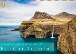 Traumlandschaft im Nordatlantik. Färöer Inseln (Wandkalender 2019 DIN A2 quer) von Feiner,  Denis