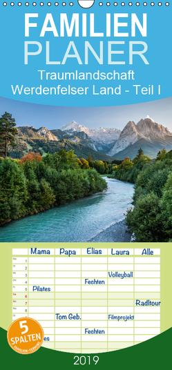Traumlandschaft Werdenfelser Land – Teil I – Familienplaner hoch (Wandkalender 2019 , 21 cm x 45 cm, hoch) von Hess,  Erhard