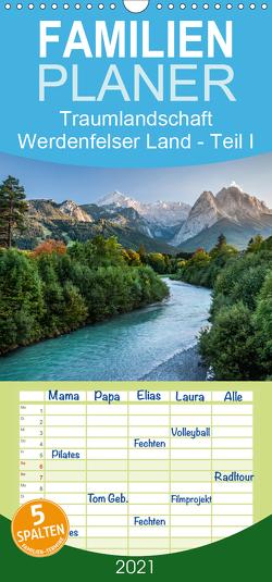 Traumlandschaft Werdenfelser Land – Teil I – Familienplaner hoch (Wandkalender 2021 , 21 cm x 45 cm, hoch) von Hess,  Erhard