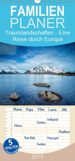 Traumlandschaften – Eine Reise durch Europa – Familienplaner hoch (Wandkalender 2019 , 21 cm x 45 cm, hoch) von Zilz,  Timo