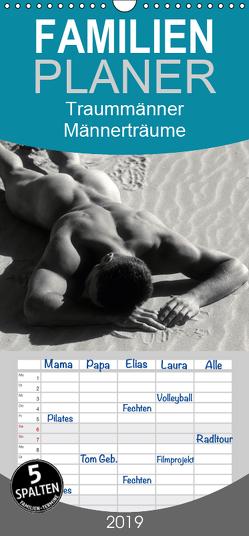Traummänner Männerträume 2019 – Familienplaner hoch (Wandkalender 2019 , 21 cm x 45 cm, hoch) von malestockphoto