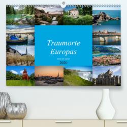 Traumorte Europas (Premium, hochwertiger DIN A2 Wandkalender 2020, Kunstdruck in Hochglanz) von Lenz,  Stefan