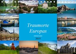 Traumorte Europas (Tischkalender 2019 DIN A5 quer) von Lenz,  Stefan