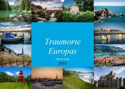 Traumorte Europas (Wandkalender 2019 DIN A2 quer) von Lenz,  Stefan