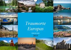 Traumorte Europas (Wandkalender 2019 DIN A3 quer) von Lenz,  Stefan