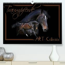 Traumpferde-ART-Collection (Premium, hochwertiger DIN A2 Wandkalender 2021, Kunstdruck in Hochglanz) von Redecker,  Andrea