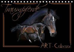 Traumpferde-ART-Collection (Tischkalender 2019 DIN A5 quer) von Redecker,  Andrea