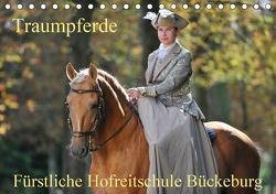 Traumpferde – Fürstliche Hofreitschule Bückeburg (Tischkalender 2021 DIN A5 quer) von Starick,  Sigrid