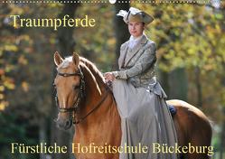 Traumpferde – Fürstliche Hofreitschule Bückeburg (Wandkalender 2021 DIN A2 quer) von Starick,  Sigrid