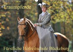 Traumpferde – Fürstliche Hofreitschule Bückeburg (Wandkalender 2021 DIN A3 quer) von Starick,  Sigrid