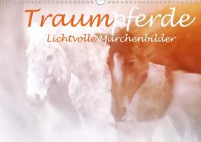 Traumpferde. Lichtvolle Märchenbilder (Wandkalender 2021 DIN A3 quer) von Brunner-Klaus,  Liselotte