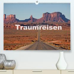 Traumreisen (Premium, hochwertiger DIN A2 Wandkalender 2021, Kunstdruck in Hochglanz) von Schickert,  Peter