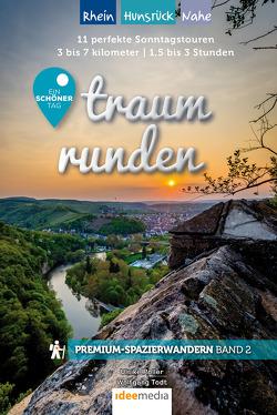 Traumrunden Rhein, Nahe, Pfalz – Ein schöner Tag: Premium-Spazierwandern von Poller,  Ulrike, Schoellkopf,  Uwe, Todt,  Wolfgang