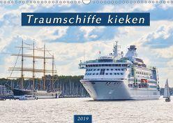 Traumschiffe kieken (Wandkalender 2019 DIN A3 quer) von Kulartz,  Rainer, Plett,  Lisa