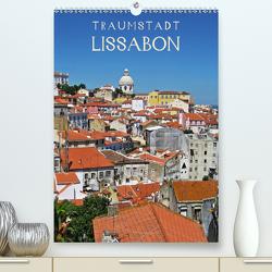 Traumstadt Lissabon (Premium, hochwertiger DIN A2 Wandkalender 2021, Kunstdruck in Hochglanz) von Ganz,  Andrea