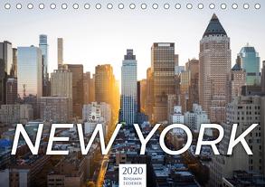 Traumstadt New York (Tischkalender 2020 DIN A5 quer) von Lederer,  Benjamin