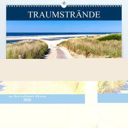 Traumstrände an Deutschlands Küsten (Premium, hochwertiger DIN A2 Wandkalender 2020, Kunstdruck in Hochglanz) von Dreegmeyer,  Andrea