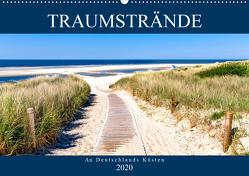 Traumstrände an Deutschlands Küsten (Wandkalender 2020 DIN A2 quer) von Dreegmeyer,  Andrea