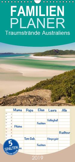 Traumstrände Australiens – Familienplaner hoch (Wandkalender 2019 , 21 cm x 45 cm, hoch) von Wasilewski,  Martin