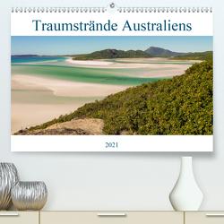 Traumstrände Australiens (Premium, hochwertiger DIN A2 Wandkalender 2021, Kunstdruck in Hochglanz) von Wasilewski,  Martin