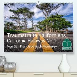 Traumstraße Kaliforniens – California Highway No.1 (Premium, hochwertiger DIN A2 Wandkalender 2021, Kunstdruck in Hochglanz) von Marufke,  Thomas