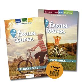 traumtouren E-Bike & Bike Start-Set mit 2 Bänden von Schoellkopf,  Uwe, Schönhöfer,  Hartmut