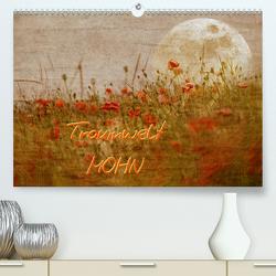 Traumwelt MOHN (Premium, hochwertiger DIN A2 Wandkalender 2020, Kunstdruck in Hochglanz) von manhART