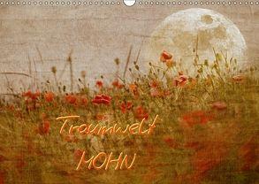Traumwelt MOHN (Wandkalender 2018 DIN A3 quer) von manhART