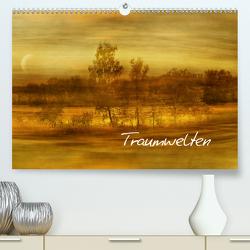 Traumwelten (Premium, hochwertiger DIN A2 Wandkalender 2020, Kunstdruck in Hochglanz) von manhART