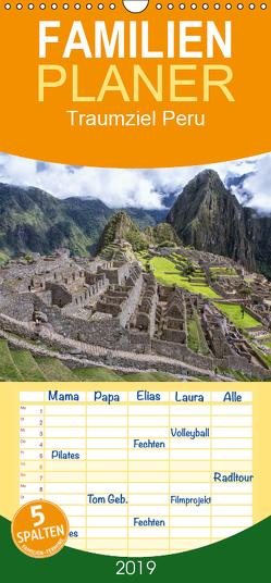 Traumziel Peru – Familienplaner hoch (Wandkalender 2019 , 21 cm x 45 cm, hoch) von Junio,  Michele