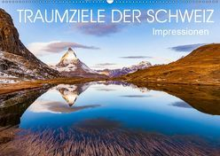 TRAUMZIELE DER SCHWEIZ Impressionen (Wandkalender 2019 DIN A2 quer) von Dieterich,  Werner