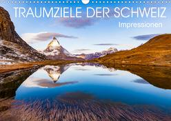 TRAUMZIELE DER SCHWEIZ Impressionen (Wandkalender 2020 DIN A3 quer) von Dieterich,  Werner