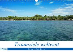 Traumziele weltweit – Bocas del Toro (Wandkalender 2020 DIN A3 quer) von Schnoor,  Christian