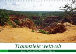 """Traumziele weltweit – Kenia: """"Hells Kitchen"""" Canyon in Marafa (Wandkalender 2021 DIN A3 quer) von Schnoor,  Christian"""