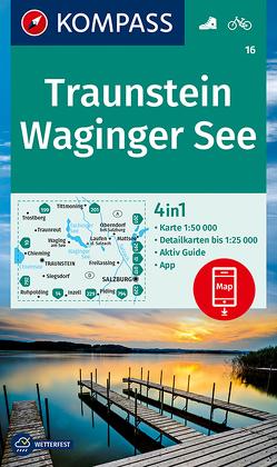 KOMPASS Wanderkarte Traunstein, Waginger See von KOMPASS-Karten GmbH