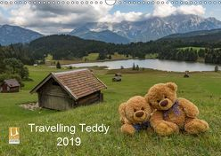 Travelling Teddy 2019 (Wandkalender 2019 DIN A3 quer) von C-K-Images
