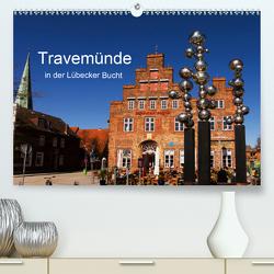 Travemünde in der Lübecker Bucht (Premium, hochwertiger DIN A2 Wandkalender 2021, Kunstdruck in Hochglanz) von Riedel,  Tanja