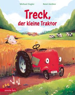 Treck, der kleine Traktor von Amthor,  René, Engler,  Michael