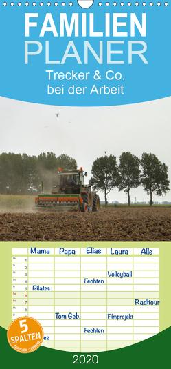 Trecker & Co. bei der Arbeit – Landwirtschaft in Ostfriesland – Familienplaner hoch (Wandkalender 2020 , 21 cm x 45 cm, hoch) von pötsch - ropo13,  rolf