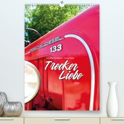 Treckerliebe (Premium, hochwertiger DIN A2 Wandkalender 2020, Kunstdruck in Hochglanz) von & Heller,  Stratmann