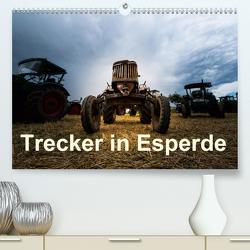 Treckertreff in Esperde (Premium, hochwertiger DIN A2 Wandkalender 2021, Kunstdruck in Hochglanz) von Assion - Robér Assion,  Photo
