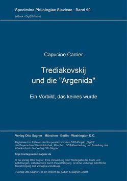 """Trediakovskij und die """"Argenida"""" von Carrier,  Capucine"""