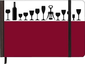 TrendLine Silhouettes Wine 15×10