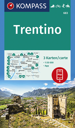 Trentino von KOMPASS-Karten GmbH