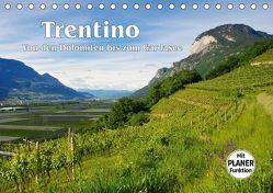 Trentino – Von den Dolomiten bis zum Gardasee (Tischkalender 2019 DIN A5 quer)