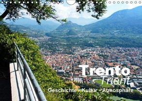 Trento-Trient (Wandkalender 2019 DIN A4 quer) von J. Richtsteig,  Walter