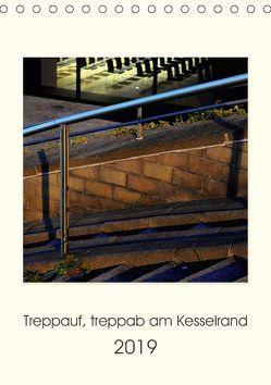 Treppauf, treppab am Kesselrand (Tischkalender 2019 DIN A5 hoch) von Heine,  Sebastian