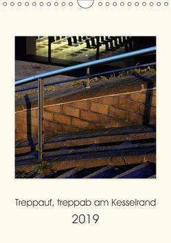 Treppauf, treppab am Kesselrand (Wandkalender 2019 DIN A4 hoch) von Heine,  Sebastian