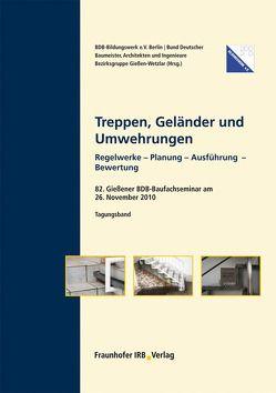Treppen, Geländer und Umwehrungen.