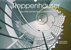 Treppenhäuser architektonische Kunstwerke (Wandkalender 2020 DIN A3 quer) von Will,  Thomas